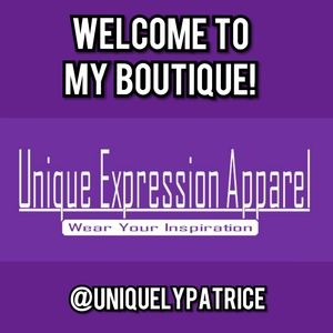 Welcome to Unique Expression Apparel Boutique!